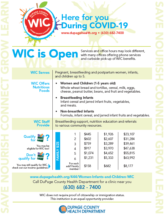 WIC_COVID_19 Services Flyer