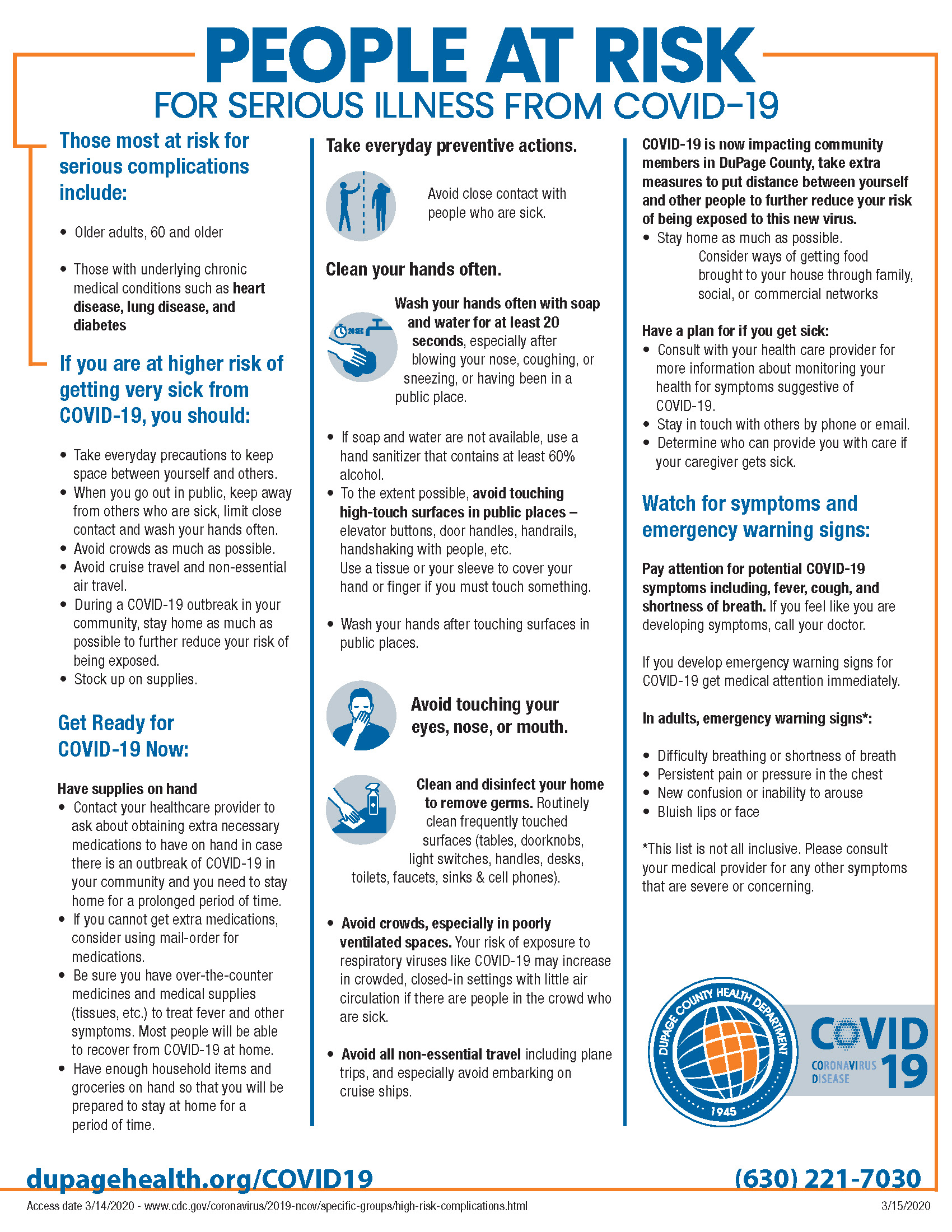 DCHD - COVID-19 People at Risk for Serious Illness (3-16)